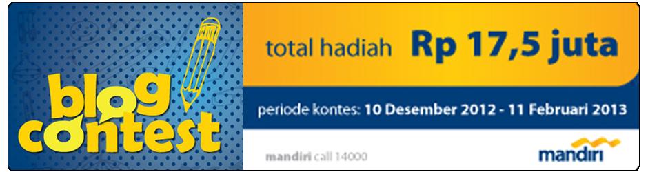 Blog Kontes Bank Mandiri